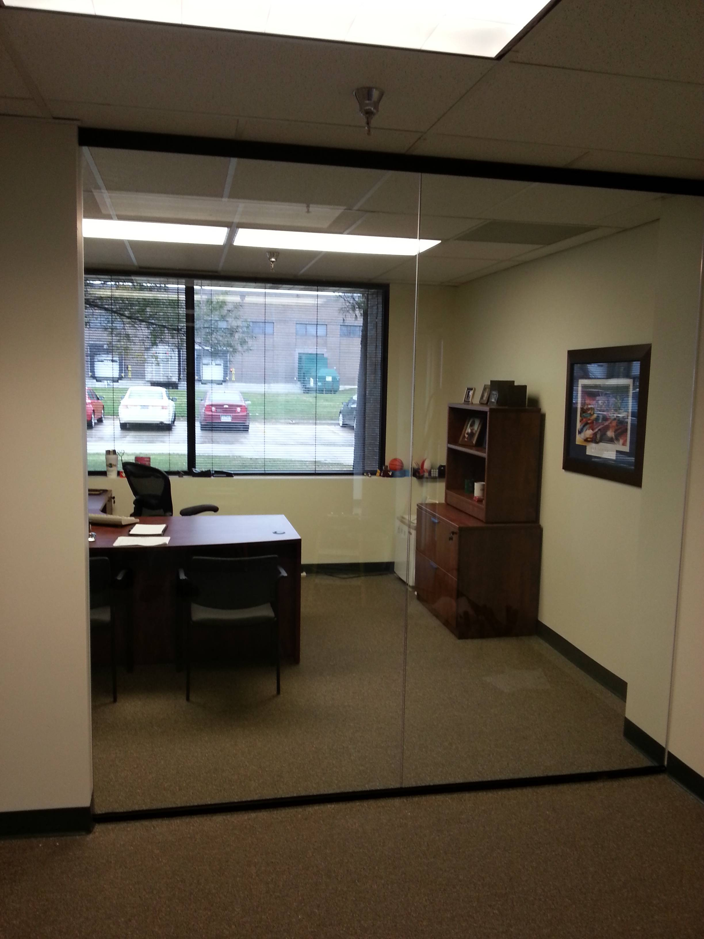 Interior Glass Office Partition